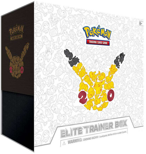 Pokemon Trading Card Game 20th Anniversary Generations Elite Trainer Box [Shaymin-EX]