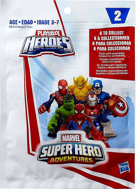 Marvel Playskool Heroes Super Hero Adventures Series 2 Mystery Pack