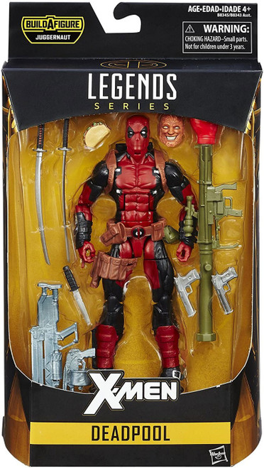 X-Men Marvel Legends Juggernaut Series Deadpool Action Figure