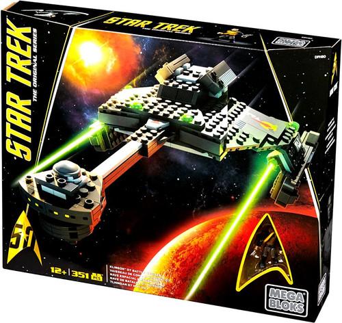 Mega Bloks Star Trek Klingon Battle Cruiser Set #31743
