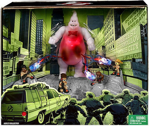 Ghostbusters Lights & Sounds Multi-Pack Exclusive Action Figure Set