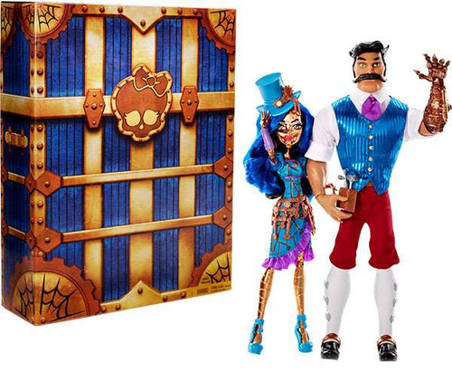 Monster High Robecca Steam & Hexiciah Steam Exclusive Doll 2-Pack