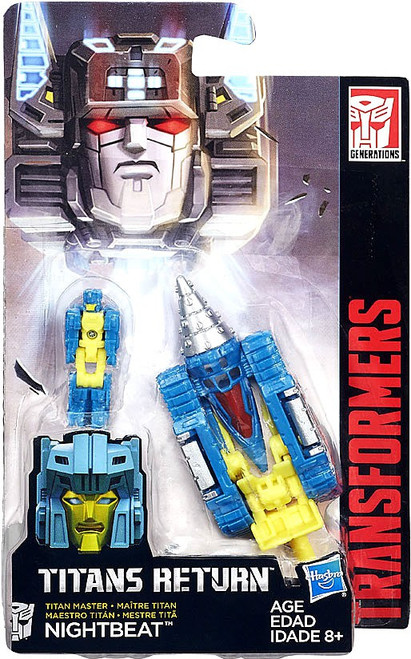 Transformers Generations Titans Return Nightbeat Master Action Figure