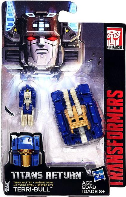 Transformers Generations Titans Return Terri-Bull Master Action Figure