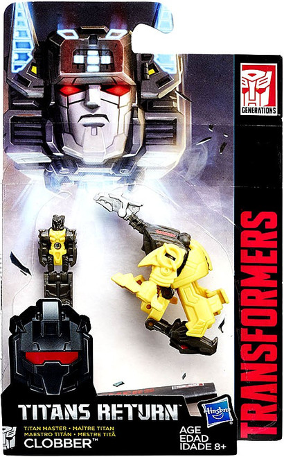 Transformers Generations Titans Return Clobber Master Action Figure