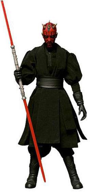 Star Wars Phantom Menace Real Action Heroes Darth Maul Deluxe Action Figure [Re-Issue, Damaged Package]