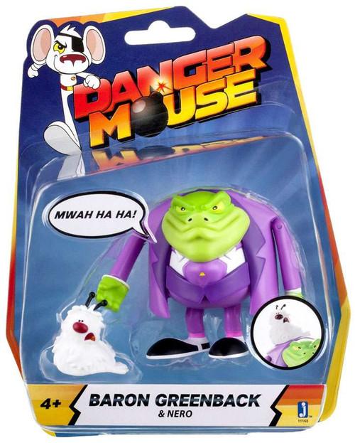 Danger Mouse Baron Greenback & Nero Action Figure