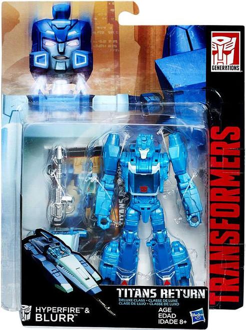 Transformers Generations Titans Return Blurr & Hyperfire Deluxe Action Figure