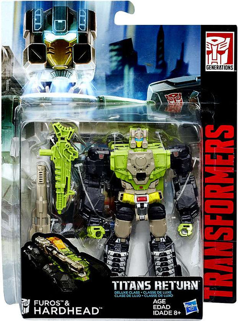Transformers Generations Titans Return Hardhead & Furos Deluxe Action Figure