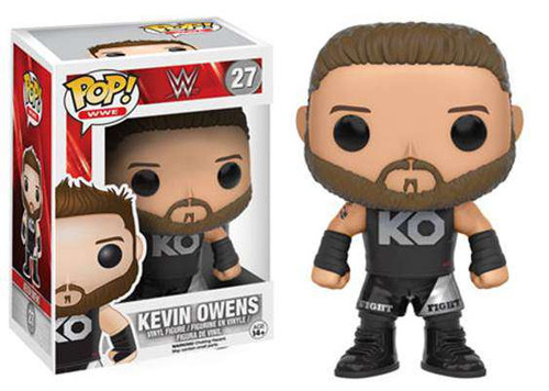 Funko WWE Wrestling POP! Sports Kevin Owens Vinyl Figure #27