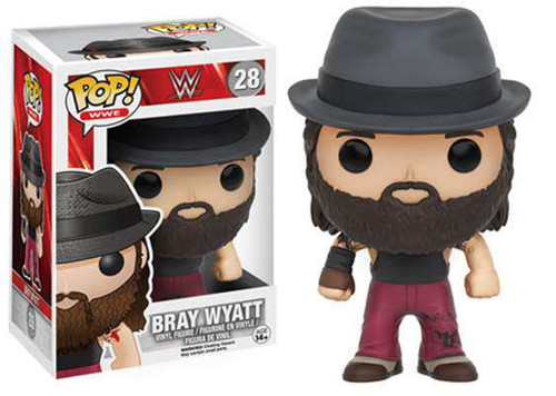 Funko WWE Wrestling POP! Sports Bray Wyatt Vinyl Figure #28