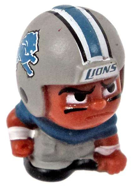 NFL TeenyMates Football Series 5 Linemen Detroit Lions Minifigure [Loose]
