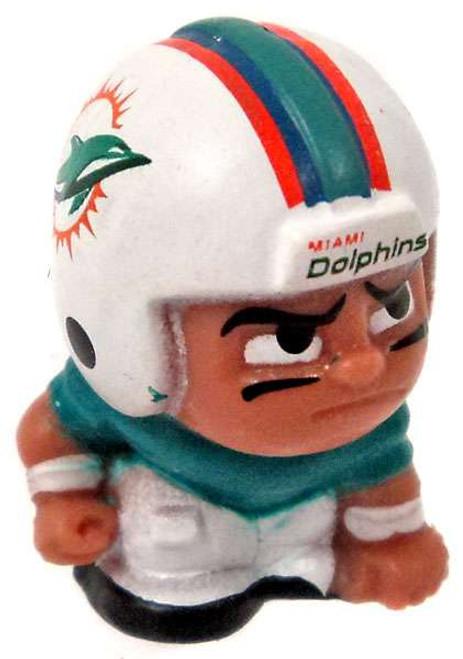 NFL TeenyMates Football Series 5 Linemen Miami Dolphins Minifigure [Loose]