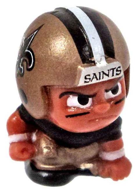 NFL TeenyMates Football Series 5 Linemen New Orleans Saints Minifigure [Loose]