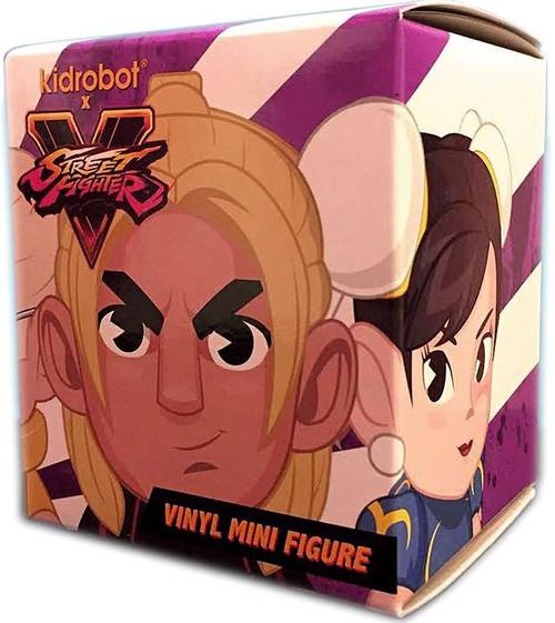 Vinyl Mini Figure Street Fighter V 3-Inch Mystery Pack [1 RANDOM Figure]