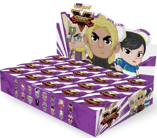 Vinyl Mini Figure Street Fighter V 3-Inch Mystery Box [20 Packs]