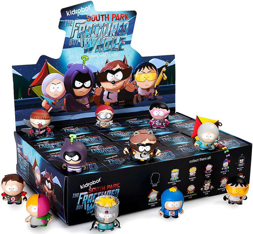 South Park Vinyl Mini Figure The Fractured But Whole 3-Inch Mystery Box [20 Packs]