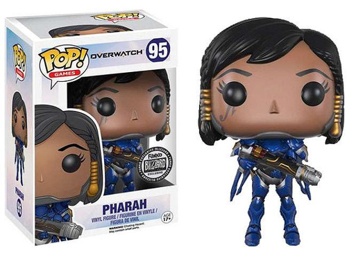 Funko Blizzard Overwatch POP! Games Pharah Exclusive Vinyl Figure #95