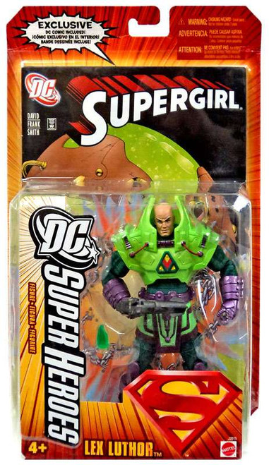 Superman DC Super Heroes Series 4 Lex Luthor Action Figure