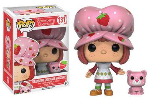 Funko POP! Animation Strawberry Shortcake & Custard Vinyl Figure #131