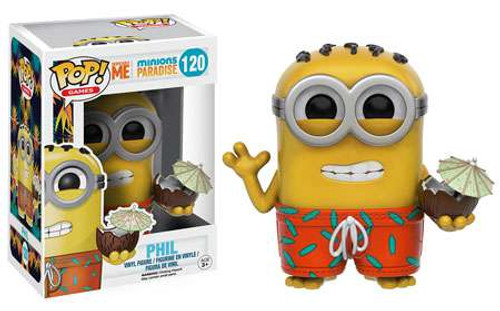 Funko Despicable Me POP! Games Minions Paradise Vinyl Figure #120