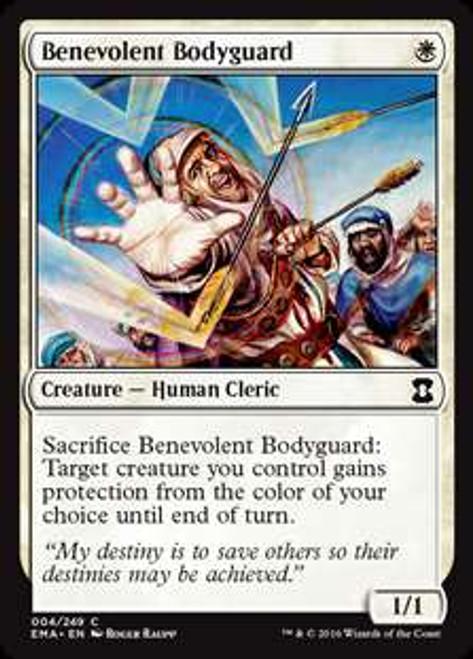 MtG Eternal Masters Common Benevolent Bodyguard #4