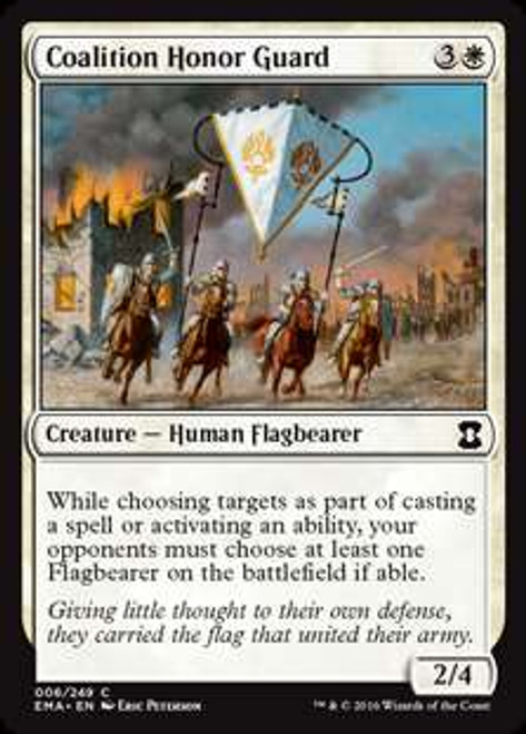 MtG Eternal Masters Common Coalition Honor Guard #6