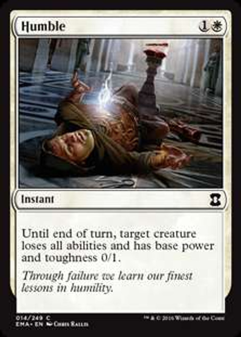 MtG Eternal Masters Common Humble #14