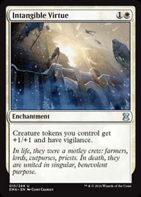 MtG Eternal Masters Uncommon Intangible Virtue #15