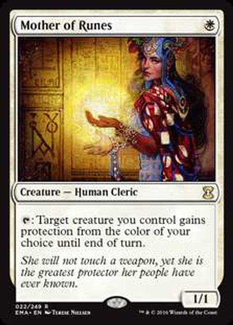 MtG Eternal Masters Rare Mother of Runes #22