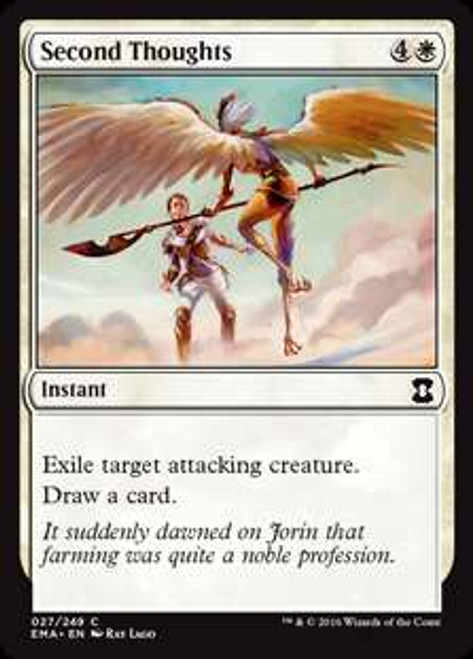 MtG Eternal Masters Common Second Thoughts #27