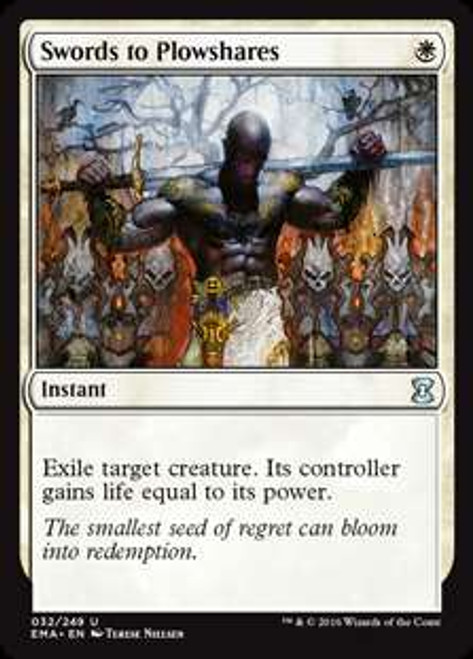 MtG Eternal Masters Uncommon Swords to Plowshares #32