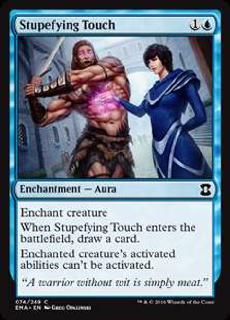 MtG Eternal Masters Common Stupefying Touch #74