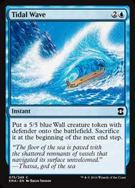 MtG Eternal Masters Common Tidal Wave #75