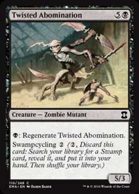 MtG Eternal Masters Common Twisted Abomination #110