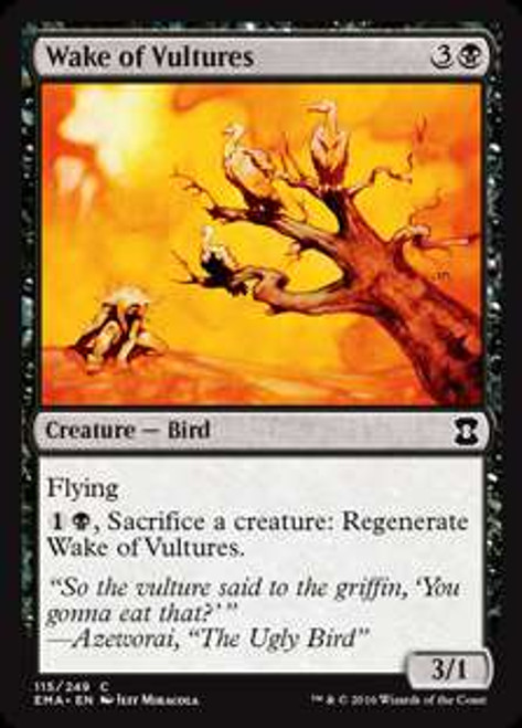 MtG Eternal Masters Common Wake of Vultures #115