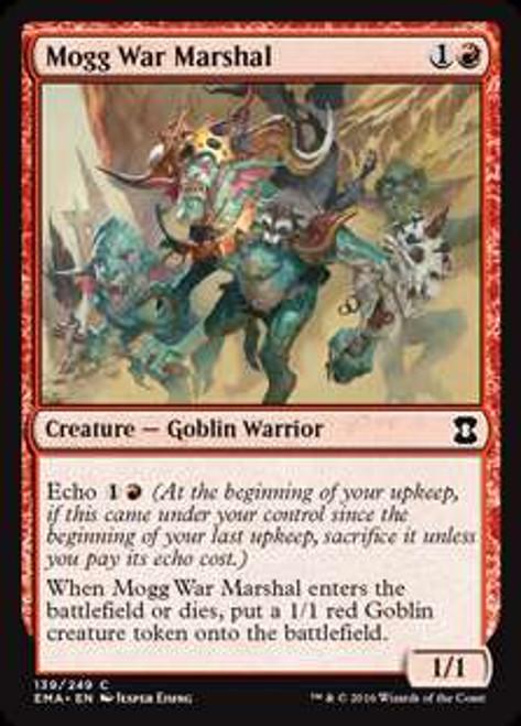 MtG Eternal Masters Common Mogg War Marshal #139
