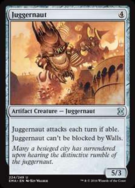 MtG Eternal Masters Uncommon Juggernaut #224
