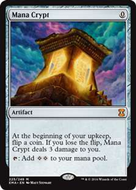 MtG Eternal Masters Mythic Rare Mana Crypt #225