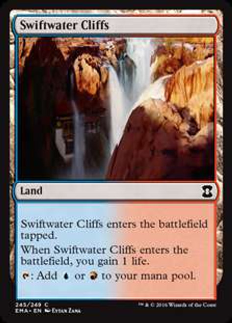 MtG Eternal Masters Common Swiftwater Cliffs #245