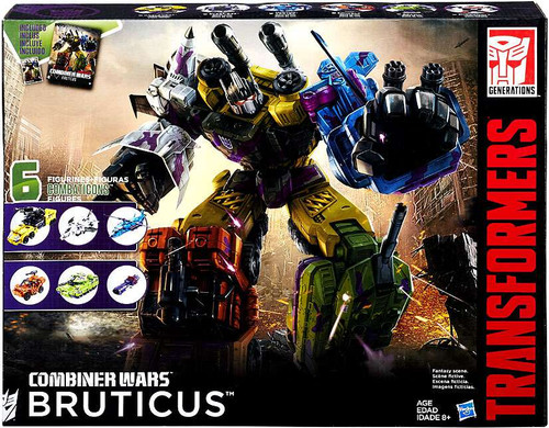 Transformers Generations Combiner Wars G2 Bruticus Action Figure Collection Pack