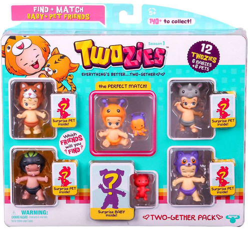 Twozies Two-Gether Pack Figure 12-Pack
