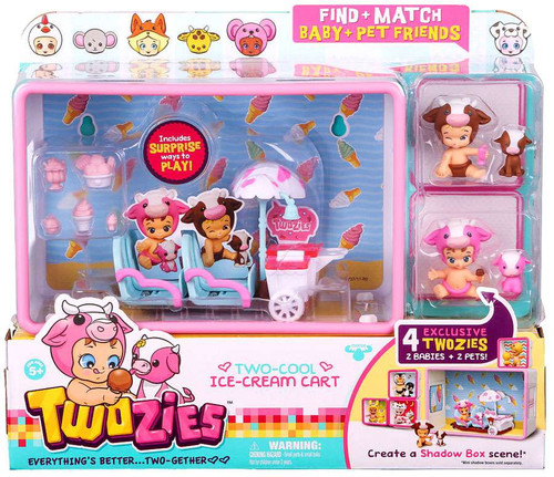 Twozies Series 1 Two-Cool Ice-Cream Cart Playset