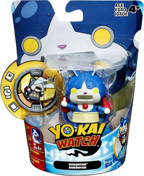 Yo-Kai Watch Medal Moments Robonyan Mini Figure [Version 2]