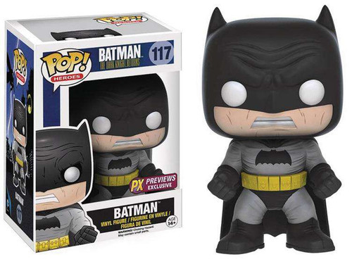 Funko DC The Dark Knight Returns POP! Heroes Batman Exclusive Vinyl Figure #117 [Black Costume]