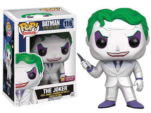 Funko DC The Dark Knight Returns POP! Heroes The Joker Exclusive Vinyl Figure #116 [The Dark Knight Returns]