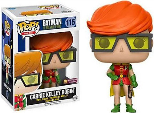 Funko DC The Dark Knight Returns POP! Heroes Carrie Kelley Robin Exclusive Vinyl Figure #116
