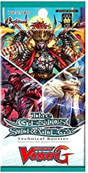 Cardfight Vanguard G The Genius Strategy Technical Booster Pack