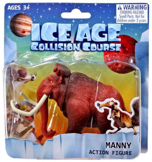 Ice Age Collision Course Manny Action Figure
