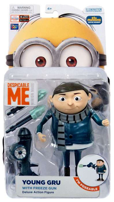 Despicable Me Minions Movie Young Gru Deluxe Action Figure [with Freeze Gun]